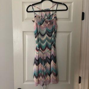 Pastel patterned dress